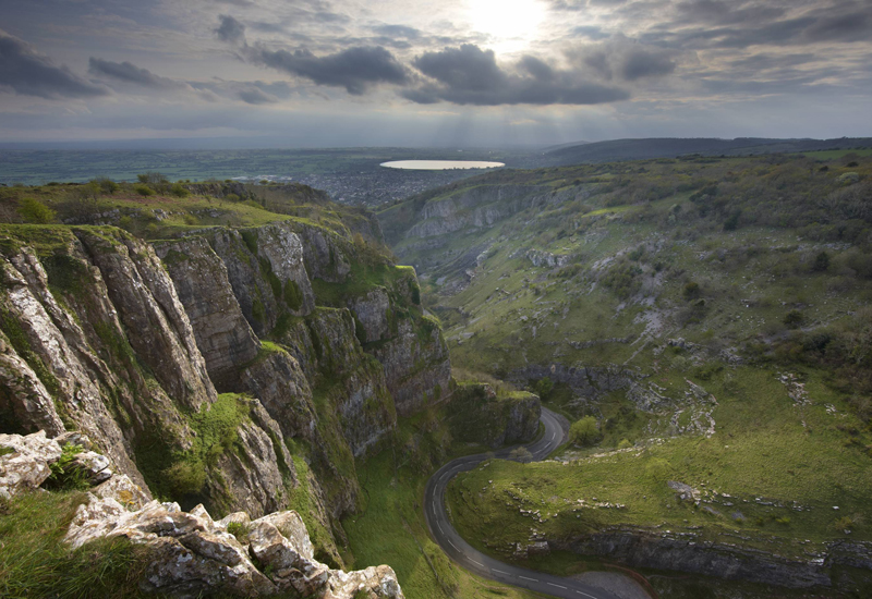 Cheddar Gorge, Somerset, England, UK